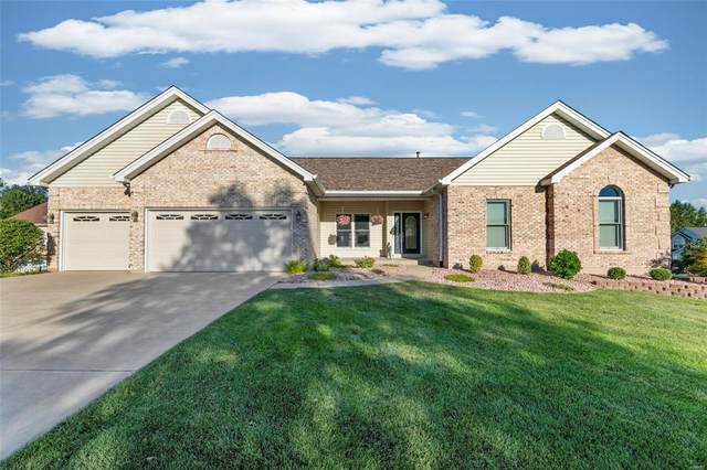 532 Greenbriar Downs, Saint Peters, MO 63376 (#21066183) :: The Becky O'Neill Power Home Selling Team