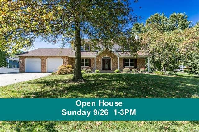 5 Deer Trail Drive, Collinsville, IL 62234 (#21066478) :: Delhougne Realty Group