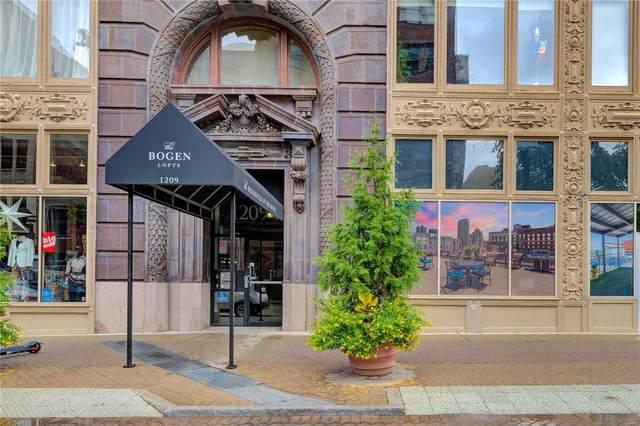 1209 Washington Avenue #608, St Louis, MO 63103 (#21067609) :: Innsbrook Properties
