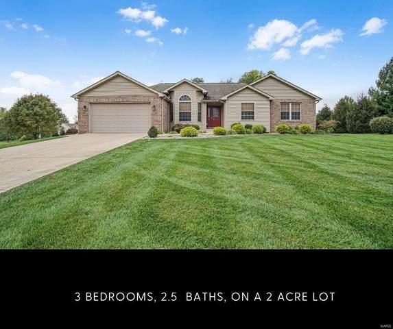 5941 Wooded Estates Lane, Edwardsville, IL 62025 (#21071478) :: Fusion Realty, LLC