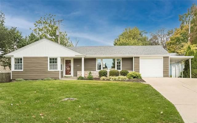 1201 Lynchester Lane, Kirkwood, MO 63122 (#21076504) :: Delhougne Realty Group