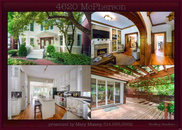 4620 Mcpherson Avenue, St Louis, MO 63108 (#18029711) :: Clarity Street Realty