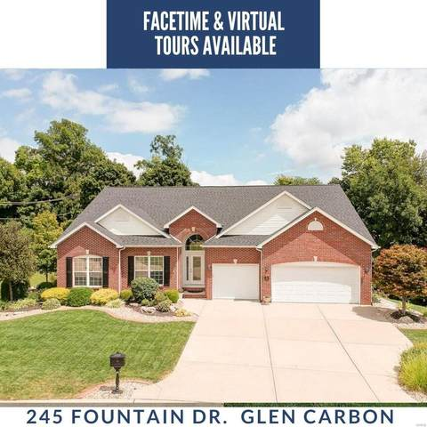 245 Fountain Drive, Glen Carbon, IL 62034 (#20008406) :: Fusion Realty, LLC