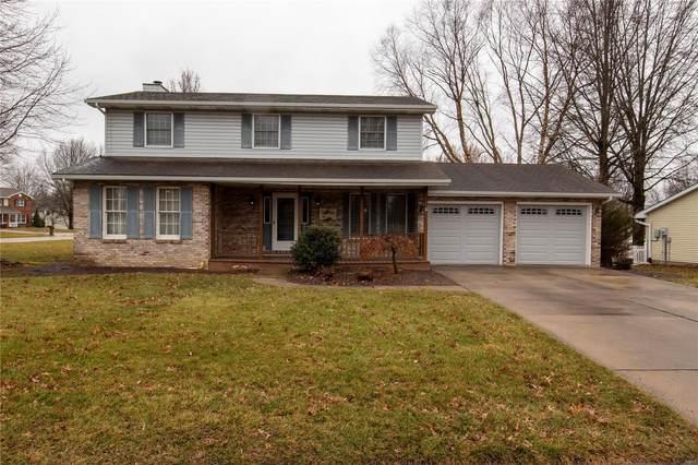 509 Whispering Oaks Drive, Bethalto, IL 62010 (#20011964) :: Peter Lu Team