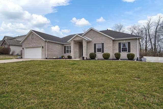 176 Oak Hill Drive, Maryville, IL 62062 (#20014403) :: Hartmann Realtors Inc.
