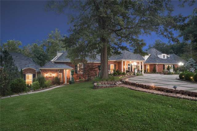 9801 Log Cabin Court, Ladue, MO 63124 (#20041405) :: St. Louis Finest Homes Realty Group