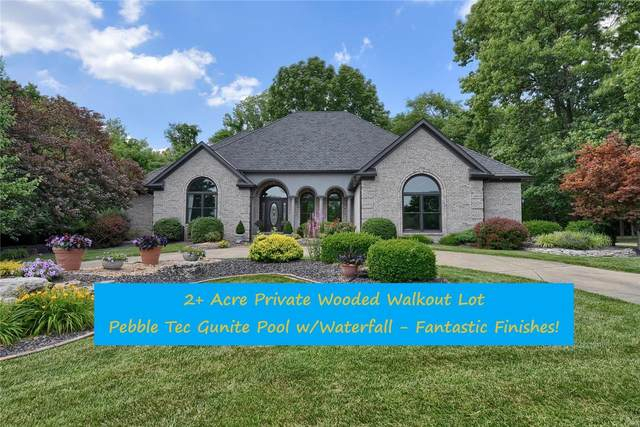 18 Coleridge Drive, Glen Carbon, IL 62034 (#20042079) :: The Becky O'Neill Power Home Selling Team