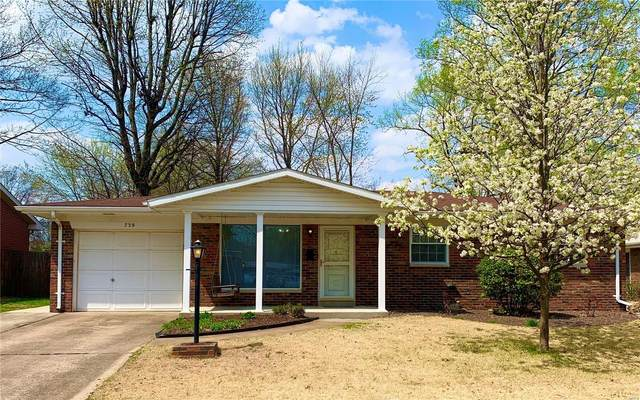 739 Amherst Place, Edwardsville, IL 62025 (#21020956) :: Parson Realty Group