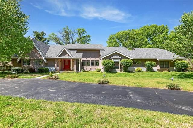 13491 Ladue Farm Road, St Louis, MO 63141 (#21025754) :: Parson Realty Group