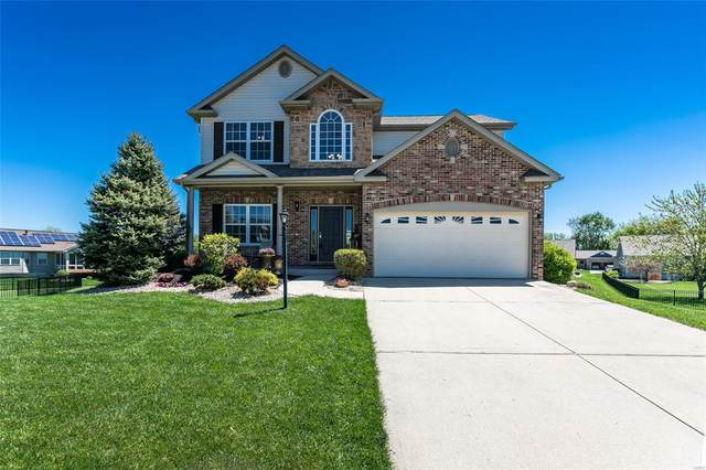 7022 Gable Ct., Glen Carbon, IL 62034 (#21027581) :: Hartmann Realtors Inc.