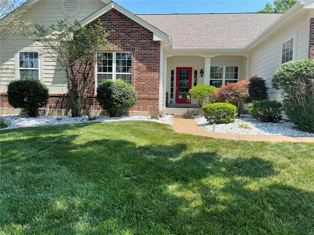 1444 Wellington View Lane, St Louis, MO 63005 (#21034382) :: Parson Realty Group