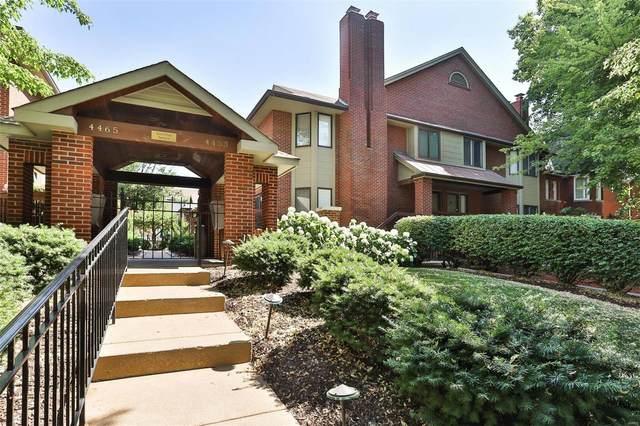 4453 W West Pine #9, St Louis, MO 63108 (#21036668) :: Century 21 Advantage