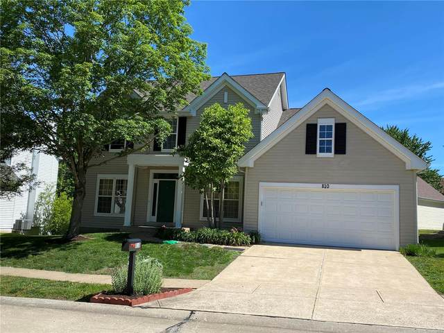 810 Wellesley Place, Chesterfield, MO 63017 (#21036985) :: Peter Lu Team
