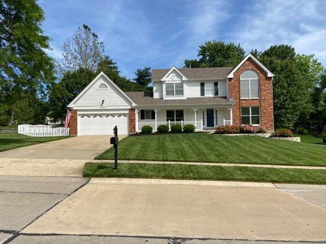 35 Log Hill Lane, Ballwin, MO 63011 (#21037766) :: The Becky O'Neill Power Home Selling Team