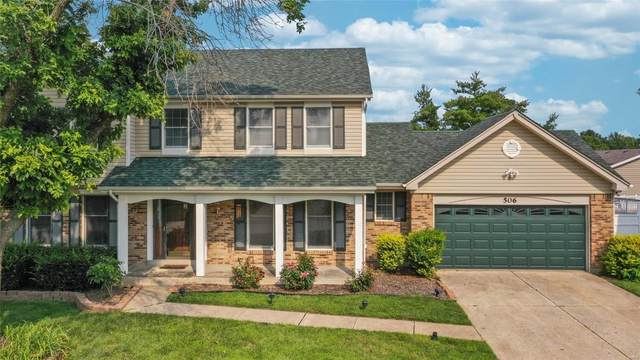 506 Fox Pointe Drive, Saint Charles, MO 63304 (#21050857) :: Jeremy Schneider Real Estate