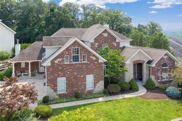 543 Woodcliff Heights, Wildwood, MO 63011 (#21051225) :: Kelly Hager Group   TdD Premier Real Estate