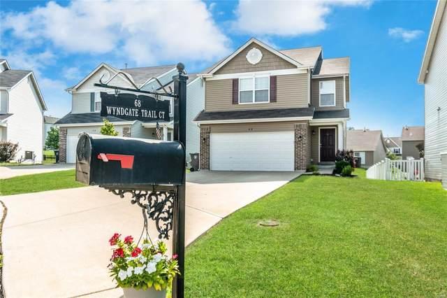 68 Wyndgate Trail Ct., Lake St Louis, MO 63367 (#21057515) :: Kelly Hager Group   TdD Premier Real Estate