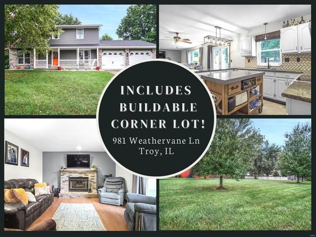 981 Weathervane Lane, Troy, IL 62294 (#21066829) :: Clarity Street Realty