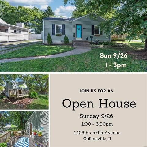 1406 Franklin Avenue, Collinsville, IL 62234 (#21067176) :: Delhougne Realty Group