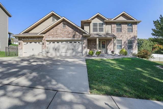 105 Meridian Oaks Drive, Glen Carbon, IL 62034 (#21071688) :: Fusion Realty, LLC