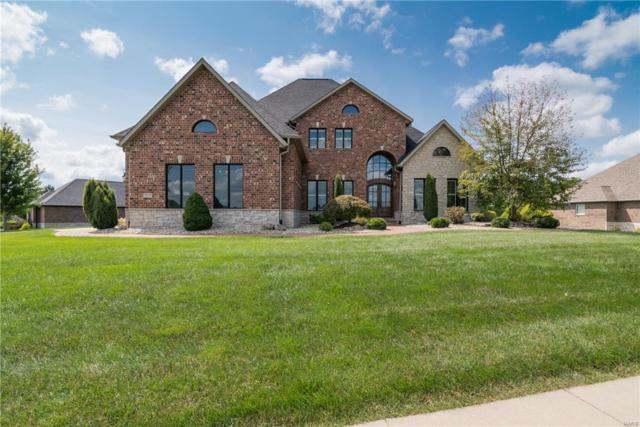 8424 Rock Ridge Court, Edwardsville, IL 62025 (#18005491) :: Sue Martin Team