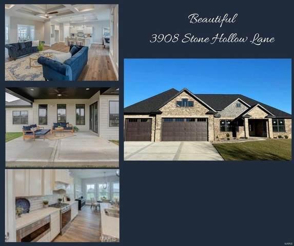 3908 Stone Hollow Lane, Edwardsville, IL 62025 (#20083447) :: Clarity Street Realty