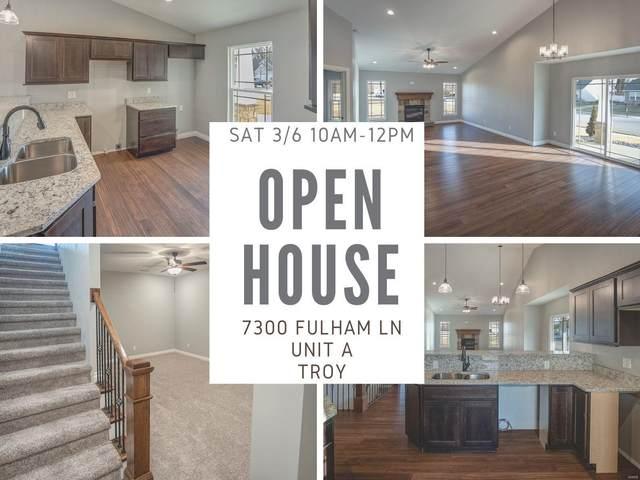 7300 Fulham Lane A, Troy, IL 62294 (#20083547) :: Matt Smith Real Estate Group