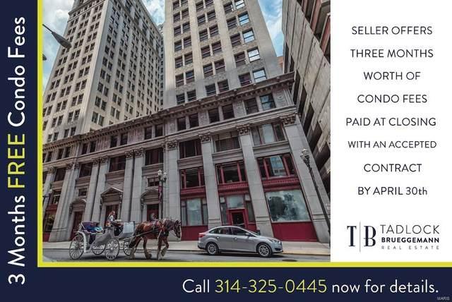314 N Broadway #1903, St Louis, MO 63102 (#21009018) :: Hartmann Realtors Inc.