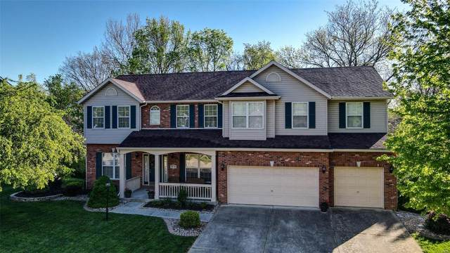 6109 Timberwolfe Dr, Glen Carbon, IL 62034 (#21025712) :: Blasingame Group | Keller Williams Marquee