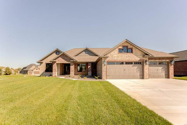 3920 Stone Hollow Lane, Edwardsville, IL 62025 (#21044669) :: The Becky O'Neill Power Home Selling Team