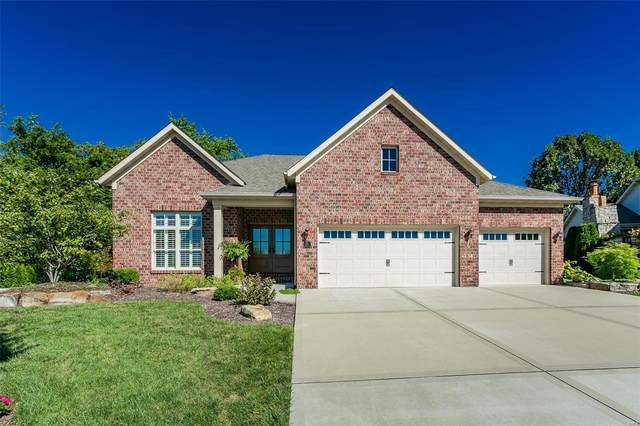 221 Fountain Dr., Glen Carbon, IL 62034 (#21064507) :: Mid Rivers Homes