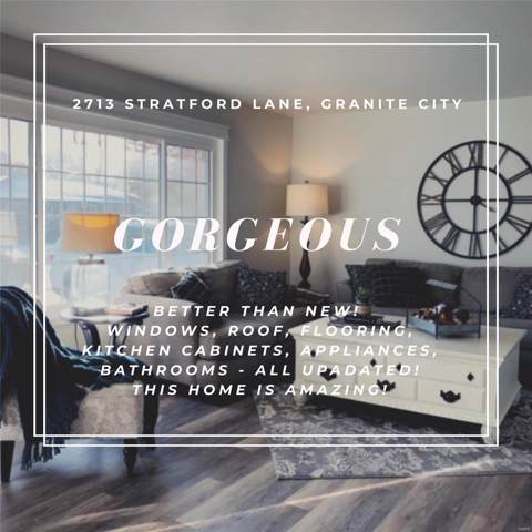 2713 Stratford Lane, Granite City, IL 62040 (#19083510) :: Sue Martin Team