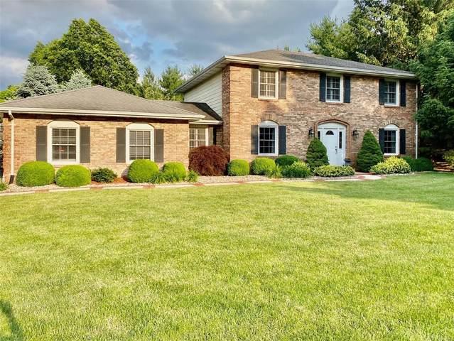 6 Ginger Crest Drive, Glen Carbon, IL 62034 (#20018756) :: Kelly Hager Group | TdD Premier Real Estate