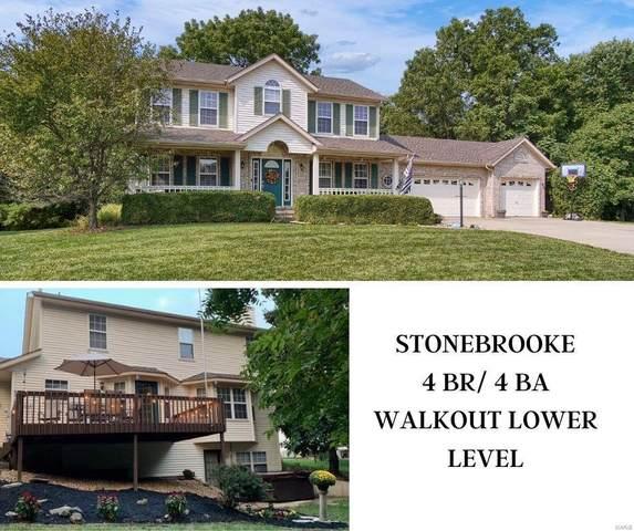 1605 Stonebrooke Drive, Edwardsville, IL 62025 (#20064904) :: Walker Real Estate Team