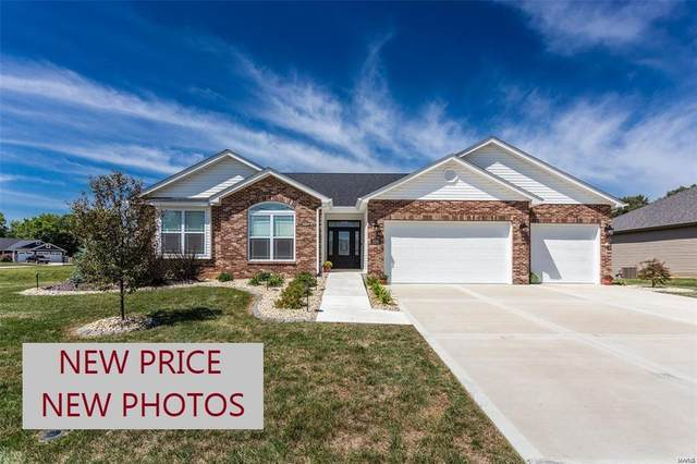 8374 Mill Hill Lane, Troy, IL 62294 (#21063827) :: Mid Rivers Homes