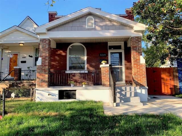 5219 Pattison Ave, St Louis, MO 63110 (#21067162) :: Matt Smith Real Estate Group