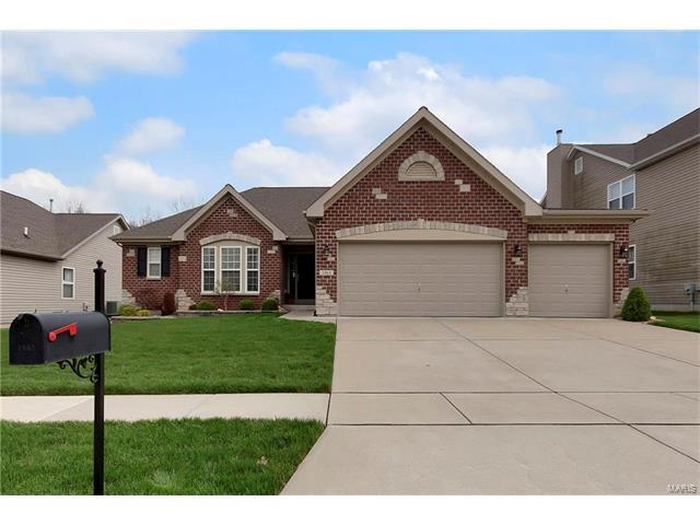 1463 Heritage Valley Drive, High Ridge, MO 63049 (#17017619) :: The Kathy Helbig Group