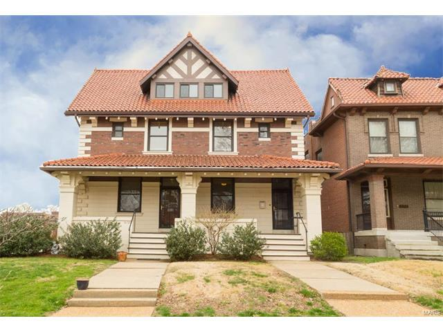 6100 Waterman Avenue #2, St Louis, MO 63112 (#17023077) :: Carrington Real Estate Services