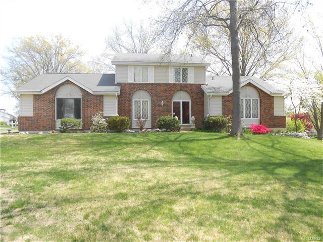 15596 Valley Branch Drive, Chesterfield, MO 63017 (#17030028) :: Kelly Hager Group | Keller Williams Realty Chesterfield