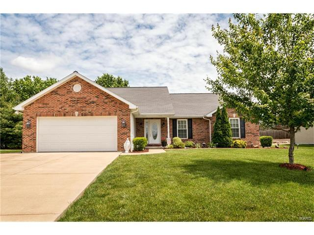 646 Dana Drive, Columbia, IL 62236 (#17040582) :: Holden Realty Group - RE/MAX Preferred