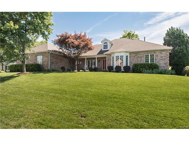 612 Loughmor Pass, Weldon Spring, MO 63304 (#17042068) :: Kelly Hager Group | Keller Williams Realty Chesterfield