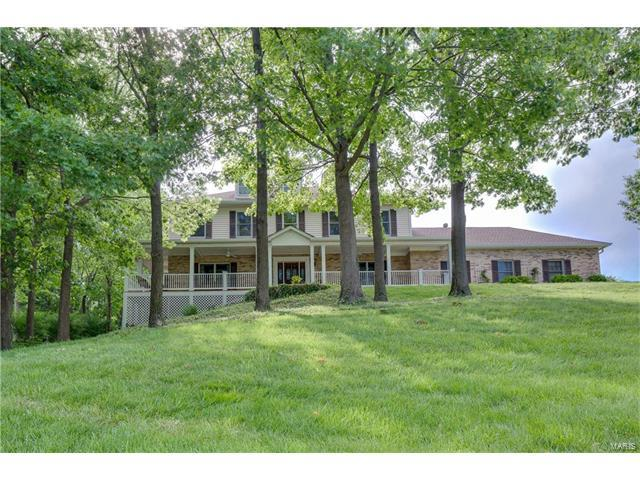 11058 Rambling Oaks Drive, Sunset Hills, MO 63128 (#17043045) :: The Becky O'Neill Power Home Selling Team