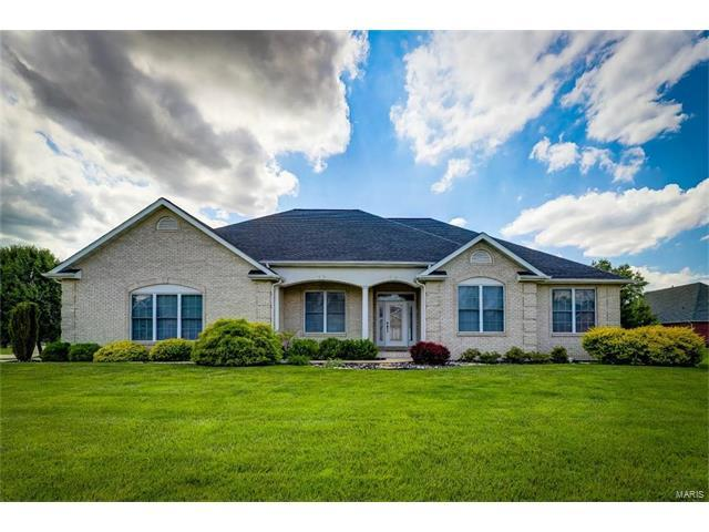 1717 Clover Ridge, Columbia, IL 62236 (#17043954) :: Holden Realty Group - RE/MAX Preferred