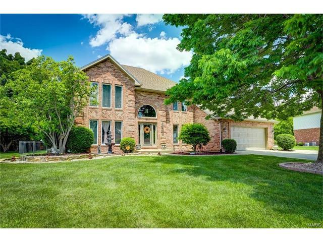 441 Burroughs Road, Columbia, IL 62236 (#17044959) :: Holden Realty Group - RE/MAX Preferred