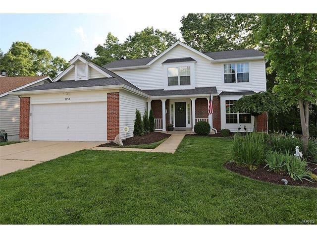 1155 Richland Meadows Drive, Ballwin, MO 63021 (#17047491) :: Kelly Hager Group | Keller Williams Realty Chesterfield