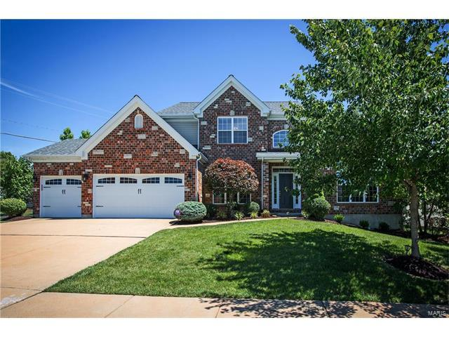 600 Palace Place Court, Ellisville, MO 63021 (#17048060) :: The Kathy Helbig Group