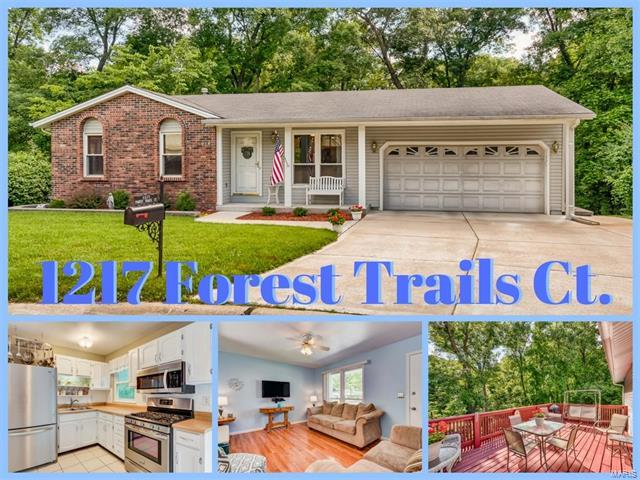 1217 Forest Trails, Fenton, MO 63026 (#17048457) :: Clarity Street Realty