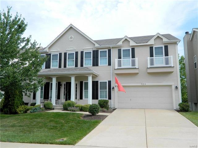 239 Greenshire Lane, Dardenne Prairie, MO 63368 (#17048478) :: The Kathy Helbig Group