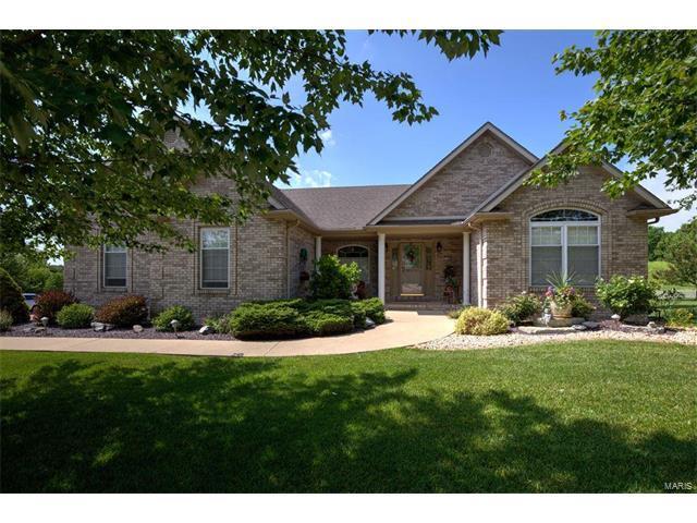1304 White Oak Trail, Godfrey, IL 62035 (#17048542) :: Fusion Realty, LLC