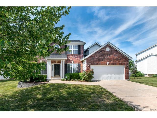7373 Little Oaks Drive, O Fallon, MO 63368 (#17048943) :: Kelly Hager Group | Keller Williams Realty Chesterfield